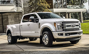 white ford f350 xlt super duty truck for sale