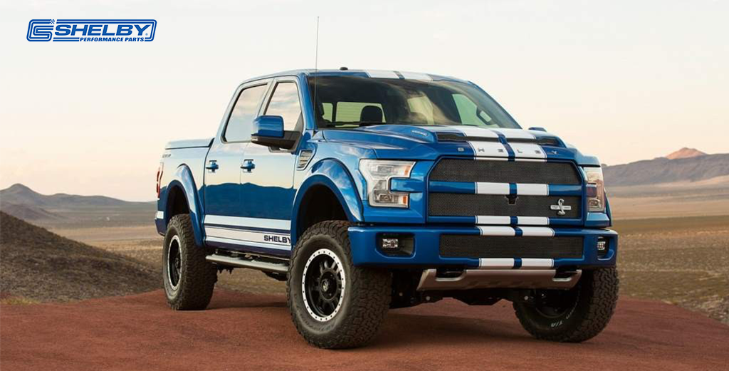 Brand New Blue Shelby Ford F150 Performance Pickup Truck