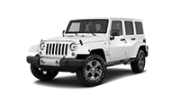 white jeep wrangler unlimited