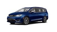 new blue chrysler pacifica