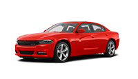 new red dodge charger