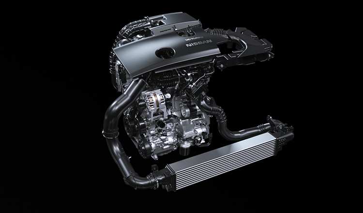 Nissan LEAF engine