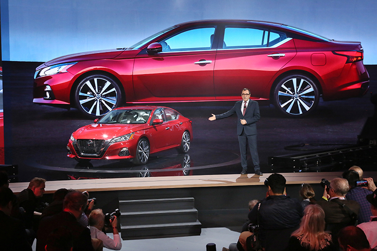 The 2019 Altima goes on sale in the U.S. this fall