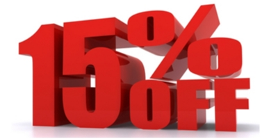 Coupon for 15% Off Any Service