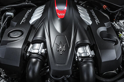 fierce v8 engine in the 2019 maserati levante trofeo