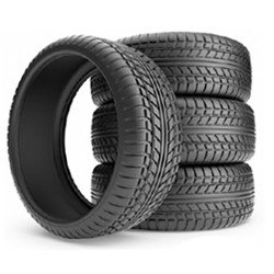 set of 4 new tires