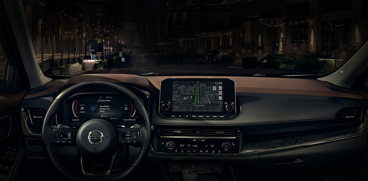 all new nissan rogue interior