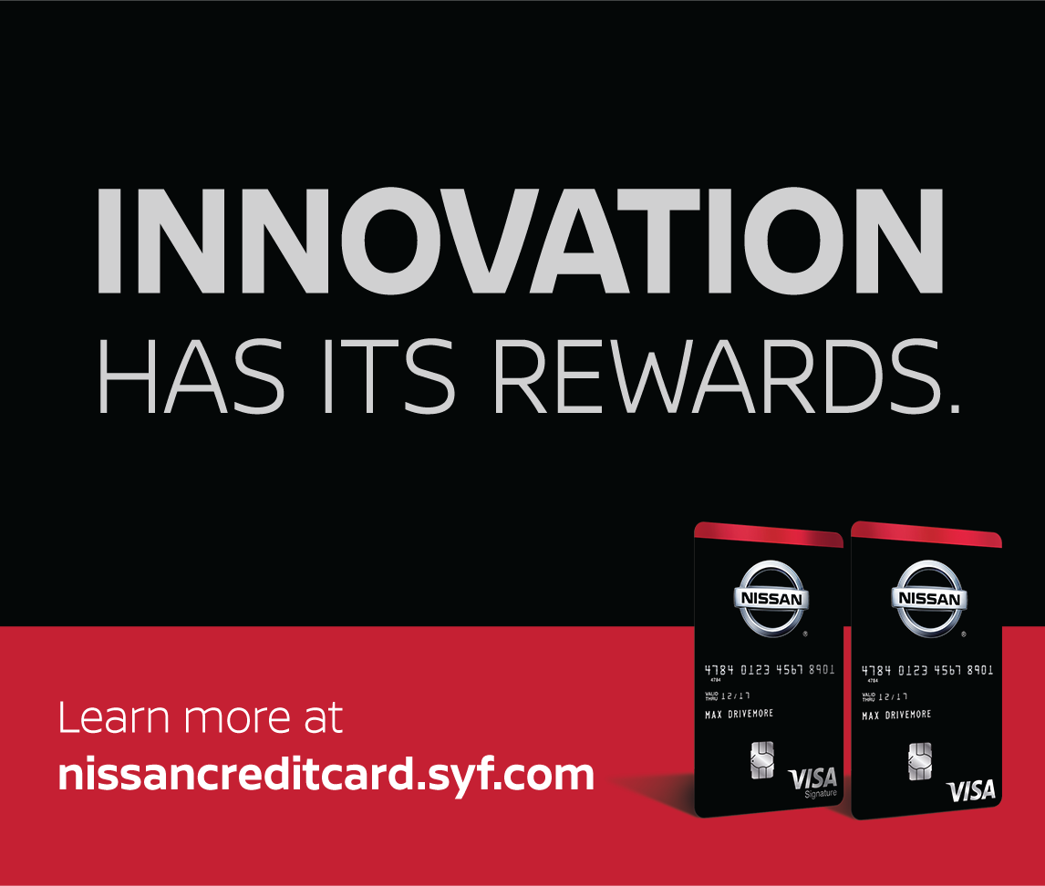 Brand New Nissan Credit Card