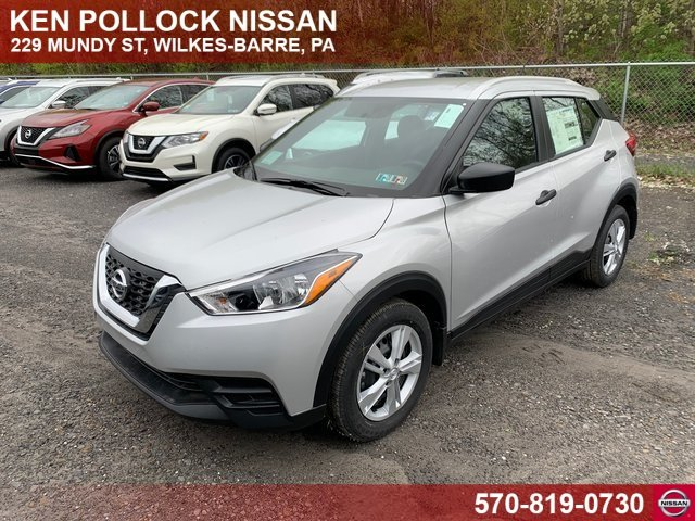 Lease this 2019, Silver, Nissan, Kicks, S