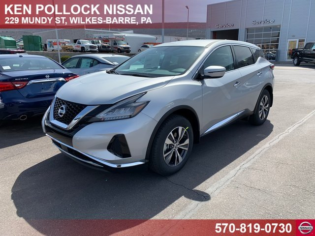 Lease this 2019, Silver, Nissan, Murano, S