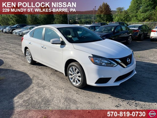 Lease this 2019, White, Nissan, Sentra, S