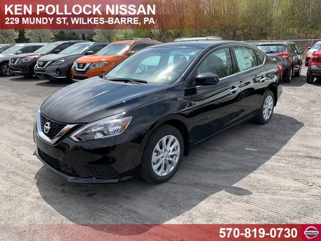 Lease this 2019, Black, Nissan, Sentra, SV