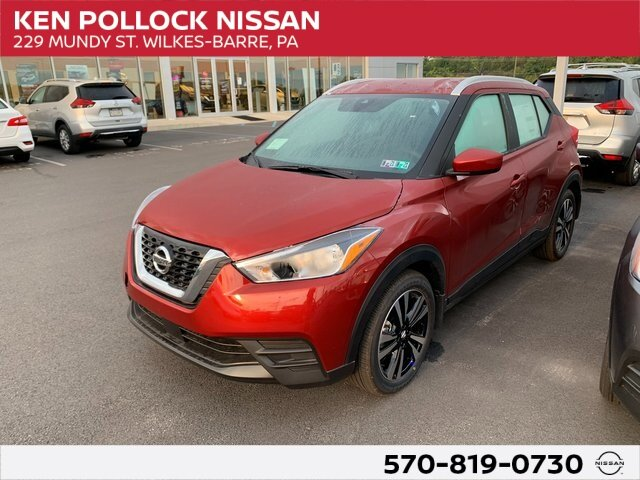 Lease this 2020, Red, Nissan, Kicks, SV