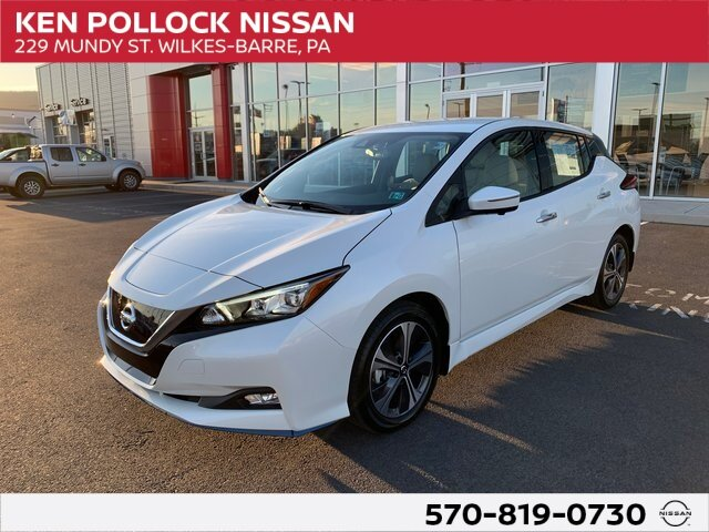 Lease this 2020, White, Nissan, LEAF, SL PLUS