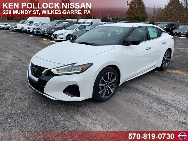 Lease this 2020, White, Nissan, Maxima, S