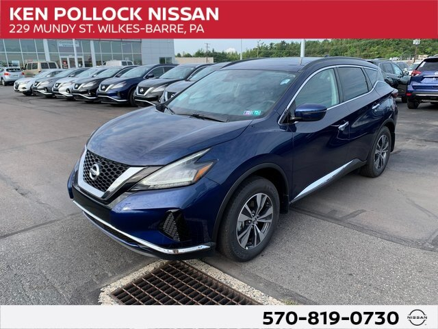 Lease this 2020, Blue, Nissan, Murano, SV