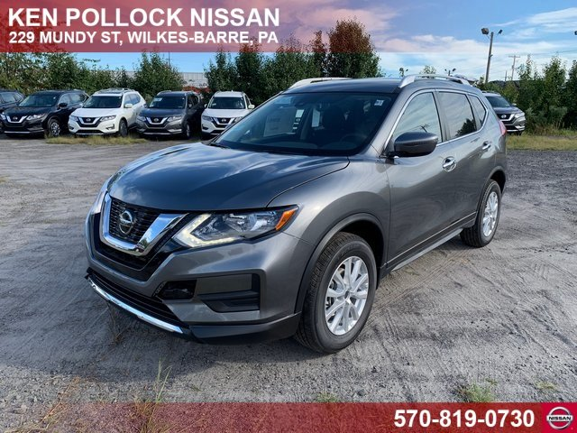 Lease this 2020, Gray, Nissan, Rogue, SV