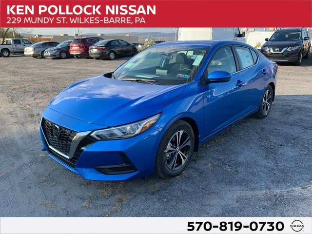 Lease this 2020, Blue, Nissan, Sentra, SV