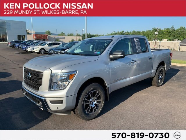 Lease this 2020, Silver, Nissan, Titan, SV