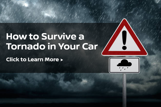 surviving a tornado in your car