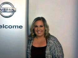 Internet Coordinator Sara Spess in Sales at Ken Pollock Nissan