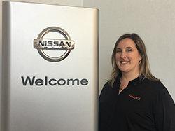 Nissan Owner Loyalty Manager Melissa Caprari in Sales at Ken Pollock Nissan