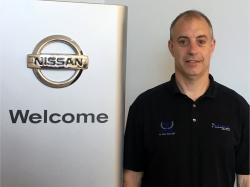 Service Director Brian Marcinkowski in Service at Ken Pollock Nissan