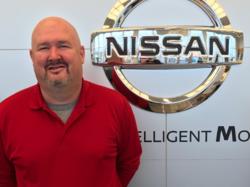Service Advisor Dave Hornlein in Service at Ken Pollock Nissan