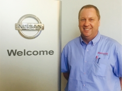 Service Manager Dave Lulewicz in Service at Ken Pollock Nissan