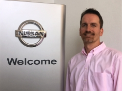 Finance Manager Jacob Ellis in Sales at Ken Pollock Nissan