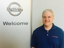 Internet Sales Manager Jeff Smith in Sales at Ken Pollock Nissan