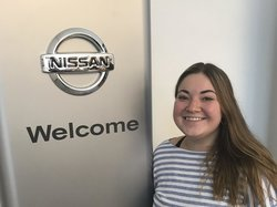 Reception - Cashier Maria DiBuo in Sales at Ken Pollock Nissan