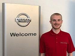 Parts Associate Rick Hoggarth Jr. in Parts at Ken Pollock Nissan