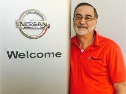 Parts Manager Mike Iorio in Parts at Ken Pollock Nissan