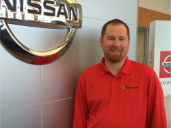 Service Advisor Mike White in Service at Ken Pollock Nissan