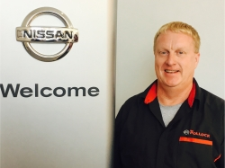 Service Technician Rick Hoggarth in Service at Ken Pollock Nissan