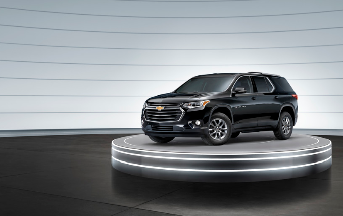 Chevy Traverse Showroom