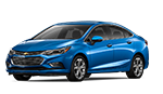 New blue Chevy Cruze for sale at Gordon Chevrolet in Jacksonville.