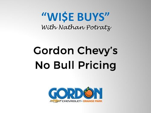 Gordon Chevy's No Bull Pricing