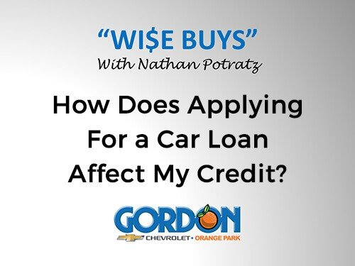How Does Applying for a Car Loan Affect My Credit?