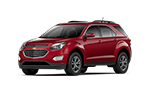New red Chevy Equinox for sale in Jacksonville at Gordon Chevrolet.