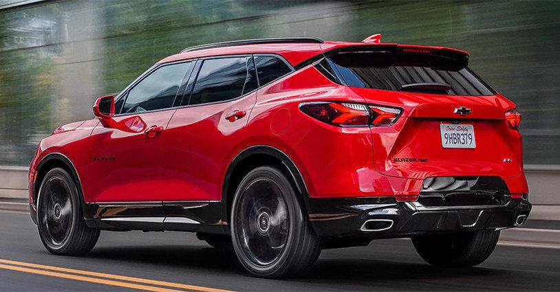 New 2020 Blazer Gordon Chevrolet