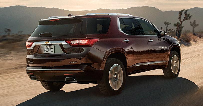 New 2020 Traverse Gordon Chevrolet