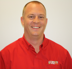 Service Manager Jason Jeralds in Service Department at Gordon Chevrolet