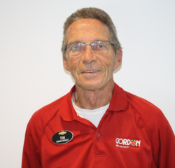 Certified Sales Tom Wright in Sales Department at Gordon Chevrolet