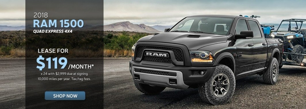 New ram 1500 purchase special