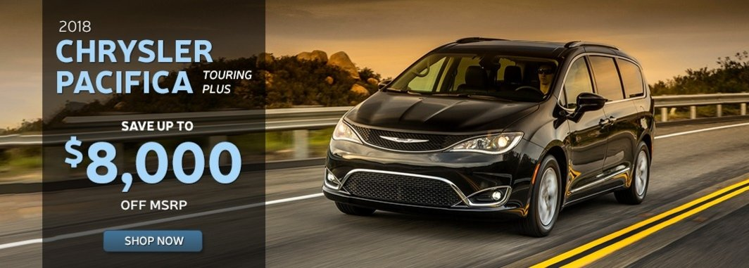 New chrysler pacifica special