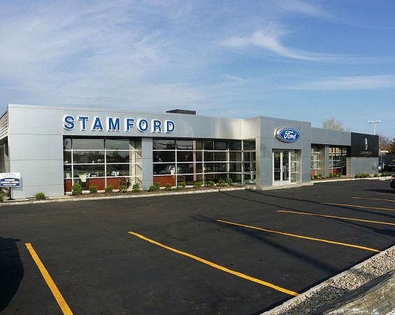 Stamford Ford exterior