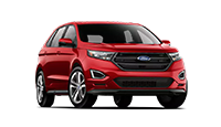new red ford edge