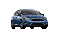 new blue ford fucus